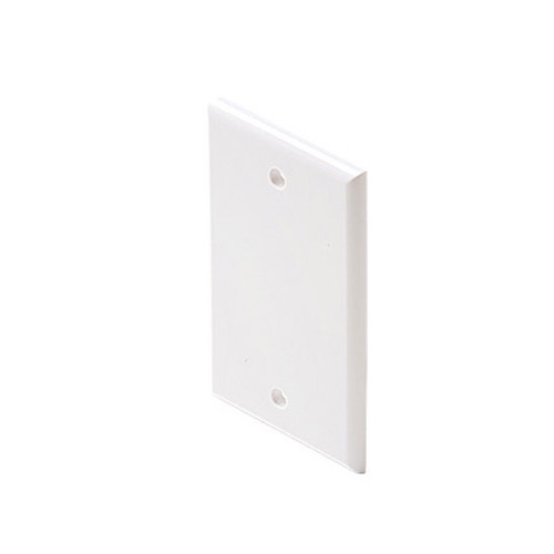 "Steren 200-418WH Midsize Wall Plate White Oversize Blank Cover 3 1/8"" Inch Wide x 4 7/8"" Tall Wall Plate Cover 1 Pack Outlet Cover, Part # 200418-WH"