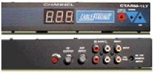 UHF Agile Digital Modulator Video A/V CableTronix Single Input CATV Home Theater Off-Air Amplified Channel Signal Combiner with Loop, Part # CTARM-1LT