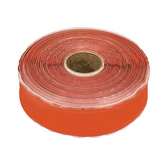 MoCap Silicone Seal Tape X-Treme 1 Inch 36 FT Orange Rescue Tape Stretch Wrap Sealant