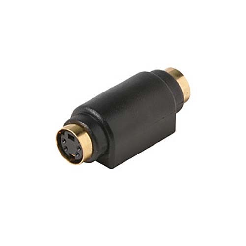 Steren 251-410-10 S-Video Coupler S-VHS Combines Two Cables 24K Gold Plated Connector 10 Pack S-Video Mini Din Combiner Barrel Stereo Cable A/V Hook-Up Component Connector, Part # 251410-10