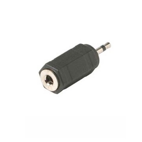 Steren 251-125 3.5mm Mono Jack to 2.5mm Mono Plug Adapter 3.5 mm Female to 2.5 mm Male Headphone Audio Jack Signal MP3 Plug Connector, Part # 251125