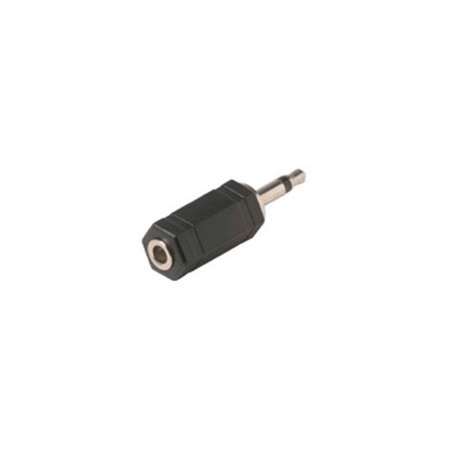 Steren 251-165 3.5mm Stereo Jack to 3.5mm Mono Plug Adapter Plug 3.5 mm Female to 3.5 mm Male Headphone Audio Jack Signal MP3 Plug Connector, Part # 251165