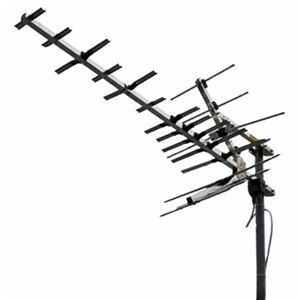 Winegard HD9095P UHF HDTV Antenna 39 Element Platinum Digital Off-Air Television Aerial, BLUE ZONE, Local Signal High Definition Channels | With 50' FT RG6 Coax Cable
