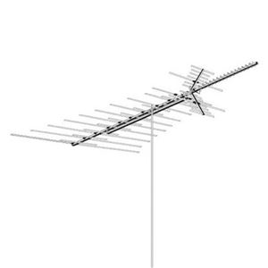 AntennaCraft HD1800 Heavy Duty VHF / UHF / FM Antenna Outdoor 69 Element Off-Air Local TV High Definition Digital Signal HDTV Television Aerial, BLUE ZONE, Part # HD-1800 | With 50' FT Coax Cable