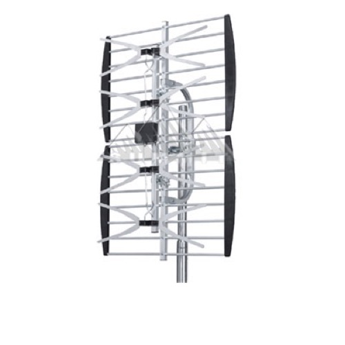 Picture Perfect ANT-2086 4-Bay UHF TV Antenna Outdoor Over Air Heavy Duty Excellent Digital Terrestrial Signal HDTV Digital 470 - 862 MHz CH 21 - 69 Gain 10 - 13 dB Four Bay UHF HD TV Aerial, LIGHT GREEN ZONE, Part # ANT2086
