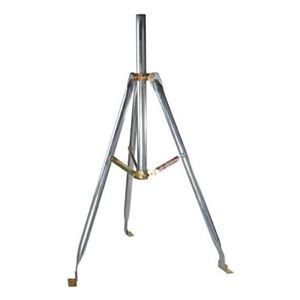 "Diamond 3' FT Tripod Mount Satellite Antenna with 2"" Inch OD Mast 28 Inch  Mast 1.66 and 2 Inch O.D. Dish 3' Tri-Pod 2"" Mast TV Off-Air Outdoor Signal Support BracketSpecifications, Part # AN3622"