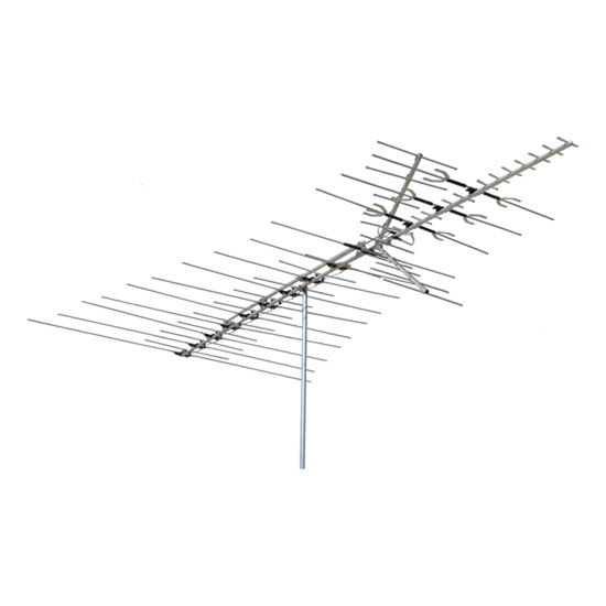 Channel Master 3671 Ultra-Hi Crossfire TV Antenna Deepest Fringe Series Antenna HDTV Aerial Off-Air Local Signal, BLUE ZONE, Part # CM-3671