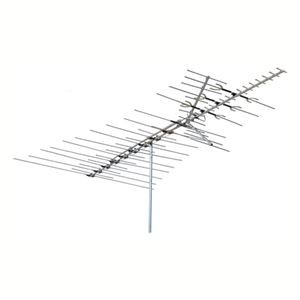 Channel Master CM3671 Deepest Fringe Cross Fire VHF / UHF / FM HDTV Antenna Off-Air Local Signal Aerial, BLUE ZONE, Part # CM-3671