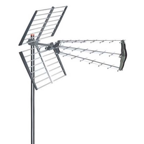LAVA A230 Outdoor HDTV Antenna UHF High Gain 18 dB SWR Ya-Gi Designed High Performance HDTV Terrestrial Heavy Duty Outdoor Antenna for Digital Local TV Reception, Aerial System, RED ZONE, Part # A230