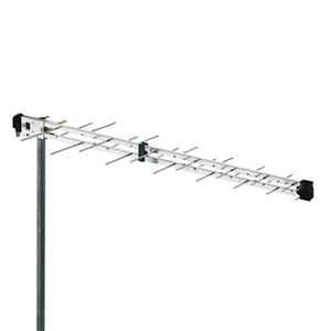 Fracarro LP45F 10.5dB Gain Log Periodic UHF Directional Antenna FREE 50 FT of RG6 Coax