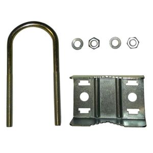 Summit Mast Pipe U Bolt Saddle Clamp Antenna 1 1/4 Assembly Bracket Mast Clamp Support Antenna U-Bolt Support Mast Pipe Clamp Bracket Connection Assembly, Part # CM3082