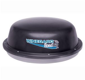 "Winegard RT1235S RoadTrip Satellite Dish Road Trip SD 12"" Camper HD Ready TV Antenna RV Mobile, DVB Technology, Dish Network, DirecTV and Express Vu, Black, Stationary Model, Part # RT-1235-S, 1235S"