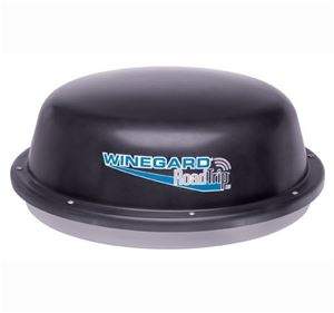 "Winegard RT1235T RoadTrip In-Motion Satellite Dish Road Trip SDi 12"" HD Ready Camper TV Antenna RV Mobile, DVB Technology, Dish Network, DirecTV and Express Vu, Black, Part # RT-1235-T, 1235T"