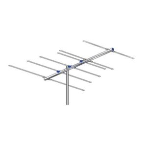 AntennaCraft FM6 FM Outdoor Antenna 6 Element High Gain Yagi 6' FT Boom Triple Driven Near Fringe Outdoor Radio Station Signal