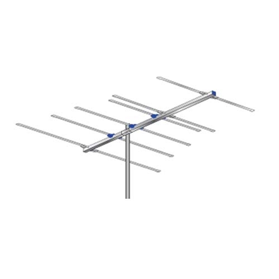 AntennaCraft FM6 FM Antenna 6 Electronic Elements Triple Driven Directional Near Fringe Outdoor Radio Station Signal Digital Off-Air | FM-6 # Part Aerial, Reception Stereo Local Rooftop | Refurbished Item