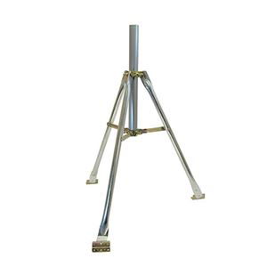 "Steren 221-120 3' FT Tripod Mount Kit Antenna Max Pipe Diameter Mast 28 Inch Long Fit Pipe Mast 1 5/8"" Inch 1.66 O.D."