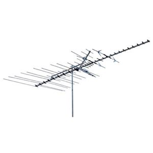 Winegard HD8200U High Definition Platinum VHF / UHF / FM TV Antenna HDTV 68 Element Off-Air Digital Signal Channel Outdoor Television Deep Fringe, BLUE ZONE 50 FT of FREE RG6 Coax
