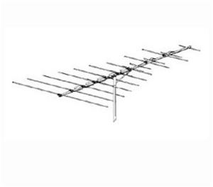 Winegard HD-5030 VHF FM TV Antenna HD5030 ProStar PR-5030 HDTV 17 Element Outdoor Local Off-Air and FM Digital Signal Rooftop Aerial, 75 Ohm, RED ZONE, Part # HD5030, PR5030 | With 50' FT Coax Cable
