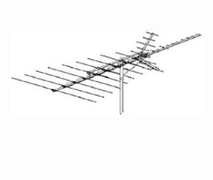 Winegard PR-7042 Outdoor Television Antenna ProStar 1000 43 Element VHF / UHF / FM Off-Air Local Signal High Definition Digital TV Aerial, BLUE ZONE, Part # PR7042 with Free 50' Coaxial Cable