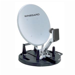 "Winegard RD-9046 RD9046 Portable RV Satellite System 18"" Inch Digital Dish Antenna Folding Remote DSS DBS Digital TV Signal with LNBF, Light Weight Base Camping / Tail Gating Unit, TV To Go, Part # RD9046"