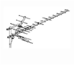 Winegard HD9085P UHF HDTV HD-9085P Antenna Platinum HD-9085 31 Element Off-Air High Definition Digital Outdoor Local Signal TV Aerial, BLUE ZONE, Part # HD9085 | With 50' FT Coax Cable