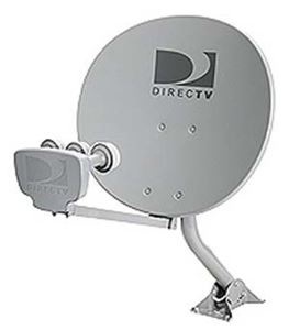 DIRECTV 1820 Phase III Satellite Dish Triple LNB 18 Inch x 20 Inch Multi-Satellite Oval Elliptical Calamp Phase 3 DSS DBS Digital Signal with Integrated Multiswitch and Feed Mount Assembly, Part # 1820DISH