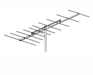Winegard HD6065 HD-6065P Platinum High Definition FM Antenna Radio 10 Element Local Off-Air HDTV Outdoor Digital Reception Signal Rooftop Aerial, 75 Ohm, | With 50' FT Coax Cable