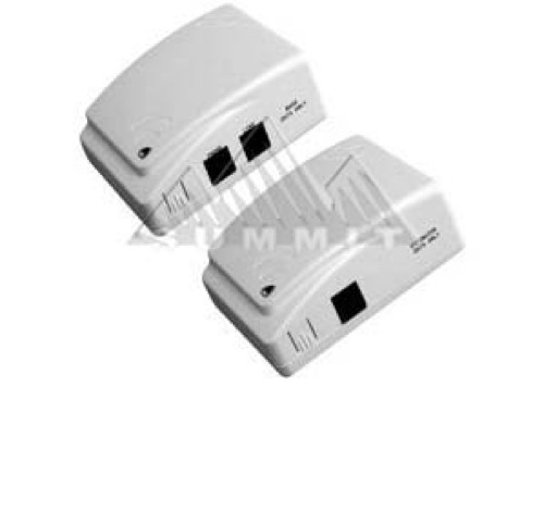 Phonex Easy Jack 2 PX-211 Wireless Phone Delivery System Via Power Line Set of 2 Telephone Wireless Connection Jack 1 Base Unit and 1 Extension Unit EasyJack 2 Wireless Telephone Port, Part # 150171