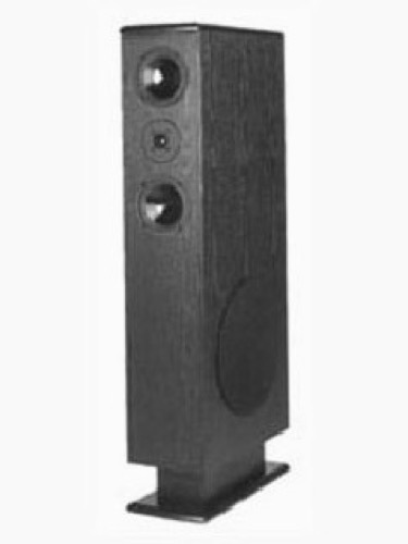 "Tower Speaker 250 Watt Ultimate Sound Home Theater Audio Signal with Dome Tweeter and 12"" Shielded Subwoofer, Phase Aligned Array, 8 Ohm Crossover, Part # TTR-12"