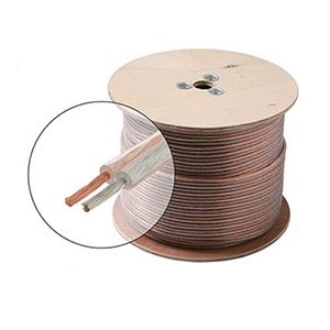 Steren 255-314CL 1000' FT 14 AWG GA Speaker Cable Wire 2 Conductor Copper Polarized High Performance Sound Quality Oxygen Free Audio Speaker Cable Stranded Flexible, Part # 255314CL