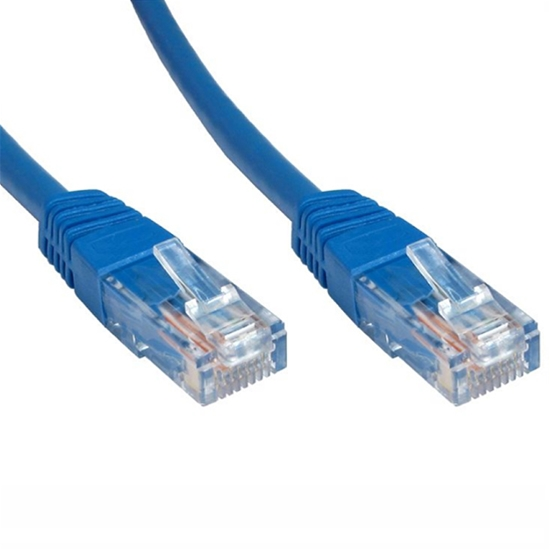 Eagle 200 FT Cat 5e Patch Cable Blue Ethernet 23 AWG Copper RJ45 350 MHz , Part# C5200B