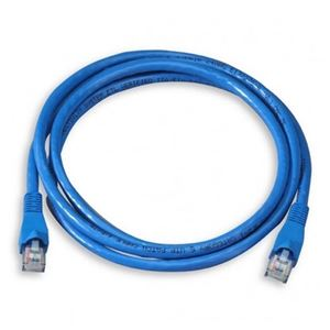 Vanco 3FT CAT5e Patch Cord Cable Blue Snagless Ethernet Patch Cable 350 MHz UTP Network Molded Snagless 24 AWG Copper Stranded RJ45 Male to Male RJ-45 Enhanced Category 5e, Part # CAT5E3
