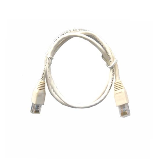 Steren 308-603WH CAT5e Patch Cord Cable White Snagless 3' FT UTP 350 MHz Network Molded Booted RJ-45 24 AWG Copper Stranded RJ45 Male to Male Enhanced Category 5e High Speed Ethernet Data Computer Gaming Jumper, Part # 308603-WH