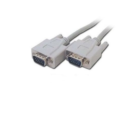 Steren 506-070 6' FT DE15HD Male to Male VGA Cable 1.8 Meter Ash Grey Cable Shielded PC Laptop to Projector Video Display Monitor Mouse Cable Interconnect Computer Cable, Part # 506070