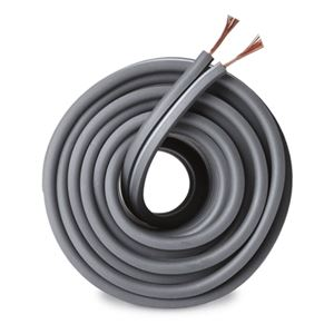 Monster 50' FT Speaker Cable 16 AWG GA 2 Conductor Standard Stranded Copper Gray