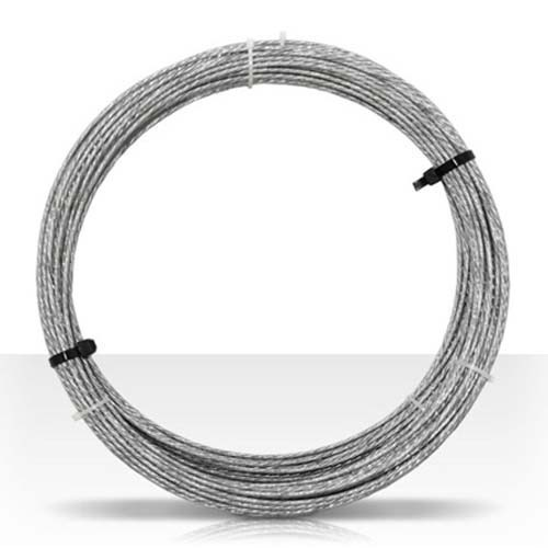 Channel Master CM-3084 Guy Wire 100' FT 20 GA 6 Strand Mast Antenna Support Cable 20 Gauge Guy Wire Cable Support Off-Air Aerial Mast Pipe Roof Mount, Part # CM3084