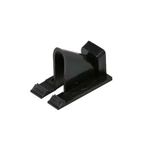 Eagle Vertical Siding Clips Black Single Coaxial 100 Pack