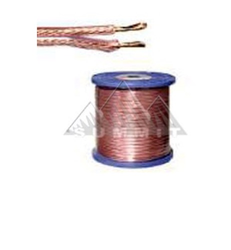 RCA Speaker Cable 50' FT 16 Ga 2 Conductor Wire Oxygen Free Copper GE Digital Audio Signal High Performance Sound Transfer Home Theater, Part # GE50SPX