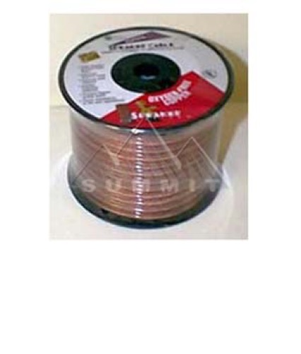Speaker Cable Wire 16 Ga 2 Conductor 100' FT 16/2 In-Wall Super Flex Oxygen Free Copper Digital Audio Signal Home Theater Sound, UL Listed, Part # Woods Gizzmo 5825