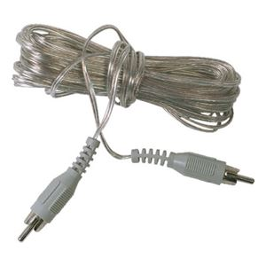 Philips USA 24 Gauge Speaker Wire with RCA Connectors PH62100 20' Foot Extension Audio Signal Stereo Speaker Component Wire with RCA Jack Connectors, Part # PH-62100