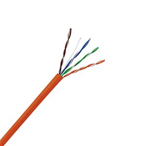 Eagle 1000' FT CAT5E Cable Orange 350 MHz CMR Solid Copper 23 AWG