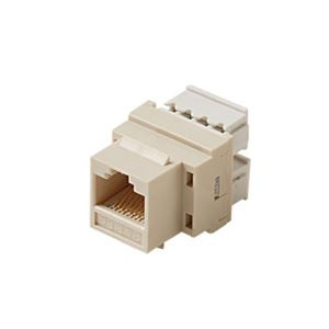 steren 310 110iv cat5e keystone jack insert ivory rj45. Black Bedroom Furniture Sets. Home Design Ideas