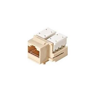 eagle cat5e keystone jack insert rj45 almond 90 degree. Black Bedroom Furniture Sets. Home Design Ideas
