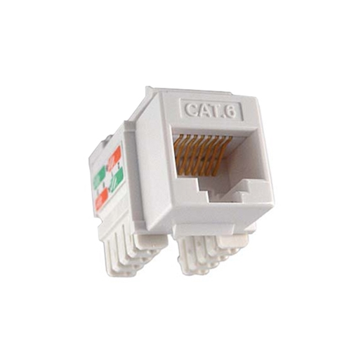 Steren 310-140WH 10 Pack White CAT6 Keystone Jack 90 Degree Connector Fast Media RJ-45 Network Gold 50 Micron Insert 8P8C QuickPort RJ45 8 Pin Wire Twisted Pair Modular Wall Plate Snap-In Computer Telecom, Part # 310140-WH