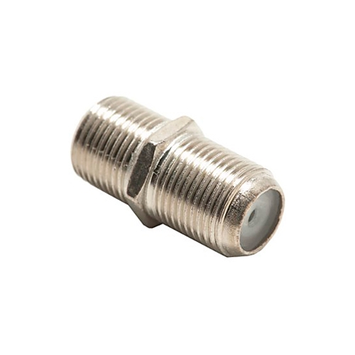 Steren 200-050-25 F-81 Dual Female Splice Barrel Connector 25 Pack Adapter RG6 RG59 Coaxial Cable 5-900 MHz Female to Female Jointer Coupling Audio Video 75 Ohm Splice Plug Extension, Part # 200050-25