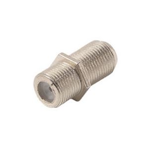 Eagle Aspen FF10B Double F Female Barrel Connector Pack of 100 Splice for RG6 or RG59 F-81 Splicer Coupler Adapter Female to Female Coaxial Jointer Splice Plug Extension, Part # FF10B