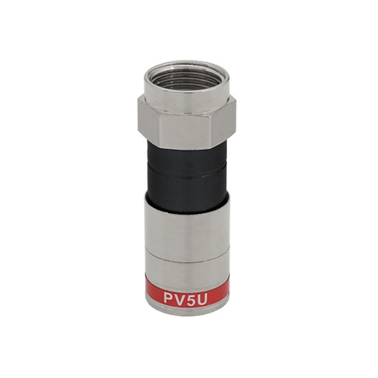 Eagle RG59 F Compression Connector Coaxial 50 Pack Permaseal 360 Ridgeloc Red Precision Machined Any Tool Design Lock-In PermaSeal Plugs
