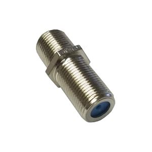 "Steren 200-058 3 GHz F-81 Coupler 1"" Long Barrel Splice Coaxial Cable High Frequency 1 Pack Female to Female Adapter Connector Cable Coax Barrel Jointer Coupling Audio Video Coaxial Cable Splice Plug Extension, Part # 200058"