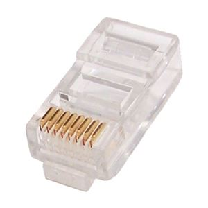 Eagle CAT6 RJ45 Plug Connectors 50 Pack 2PCS With Load Bar Modular