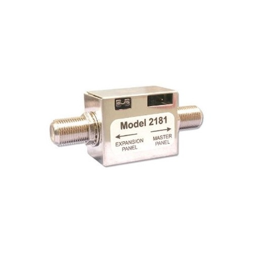 Channel Plus 2181 I/R Expander Module Coaxial Cable Expansion IR Coupler Compact In-Line Design IR Signal Coupler to Send IR Control Signals from Master to Slave RF Distribution Amplifiers, Part # 2181